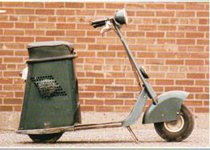The Salsbury Motor Glide Scooter