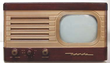 Motorola VT-71B Table Television