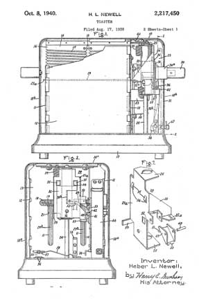 H.L. Newell Patent 2,217,450