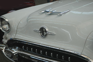 Front End of the 1955 Olds Super 88