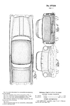 Olds Body Design Patent no. D- 177,004