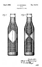 Orange Crush Bottle Design Patent D110731