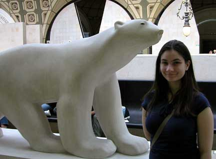 Francois Pompon-Polar bear at Orsay