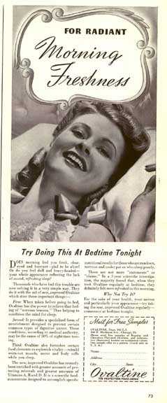 Ovaltine Ad - June 2, 1941