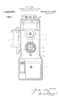 Gray Model 75 Pay Phone Patent No. 1,383,472