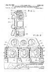 Western Electric Model 233 Payphone Patent No. 2,891,112