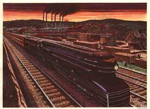Pennsylvania Railroad S1 Steam Locomotive