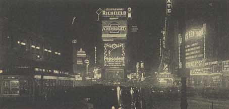 The Pepsodent Sign on Broadway