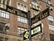 Gramercy Park Street Signs NYC