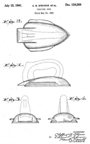 Stevens and Schreyer Pettipoint Iron Patent D 128,629