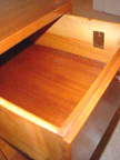 Cavalier Scandinavian Bedroom Set Drawer with Cavalier badge