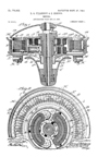 Pillsbury and Bretch Ceiling Fan Patent No. 770,922