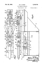 Pipe Bending Device, Patent No. 2,148,748