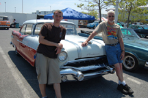 1956 Pontiac at Ocean City Car Show