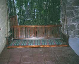 Sears Missionesque Porch Swing