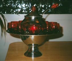 Saturn Punch Bowl