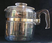 The Pyrex Glass Percolator
