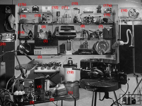 Display of Appliances in LIFE Magazine
