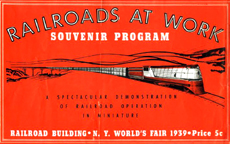 1939 New York Worlds Fair Railroads Exhibit