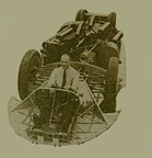 Frame of the Cobb-Railton Land Speed Racer