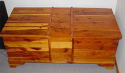 All-Cedar Chest (not Cavalier)--closed