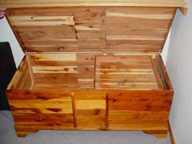 All-Cedar Chest (not Cavalier) --open