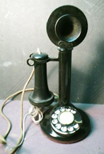 Real Candlestick Phone