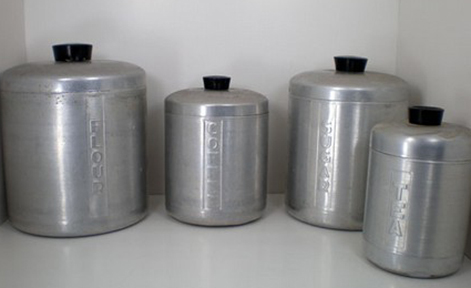 West bend Aluminum Cannister Set