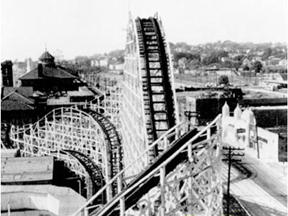 Henry Traver Revere Beach Cyclone Roller Coaster