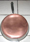 Vintage Revere ware 8 inch Frying pan
