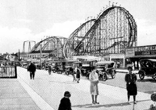 Henry Traver Revere Beach Lightning Roller Coaster