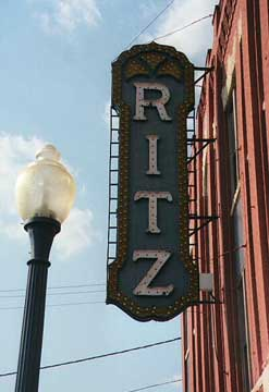 Ritz Theater in Brunswick, Georgia
