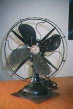 Robbins & Myers Desk Fan Front