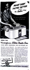 Westinghouse Roaster Ad -- 1946