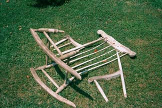 Windsor Rocker, as found