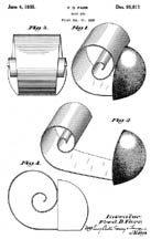 Scroll Bookend Patent