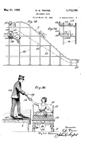 Henry Traver Roller Coaster Patent 1,713,793