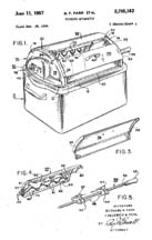 Westinghouse Roaster Rotisserie Patent No. 2,795,183