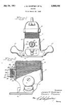Stanley Router Patent 2,562,143