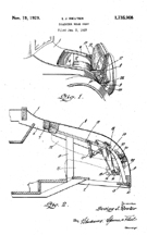Rumble Seat patent 1,735,908