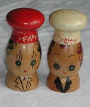 Salty and Peppy Salt Shakers
