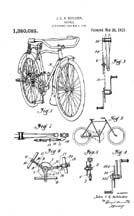 General baloon Tire Bike Patent 1380082