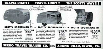 Serro Scotty Trailers