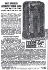 1938 Sears Catalogue ad for the Model 4687 Radio
