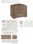 Ad from the 1939 Sears Catalogue for the Silvertone Model 6363 Table Radio