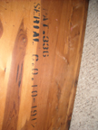 Shannons Cavalier Cedar Chest Serial Number