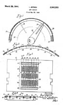 Mr. Jepson's Shaver Mechanism Patent 2,345,263