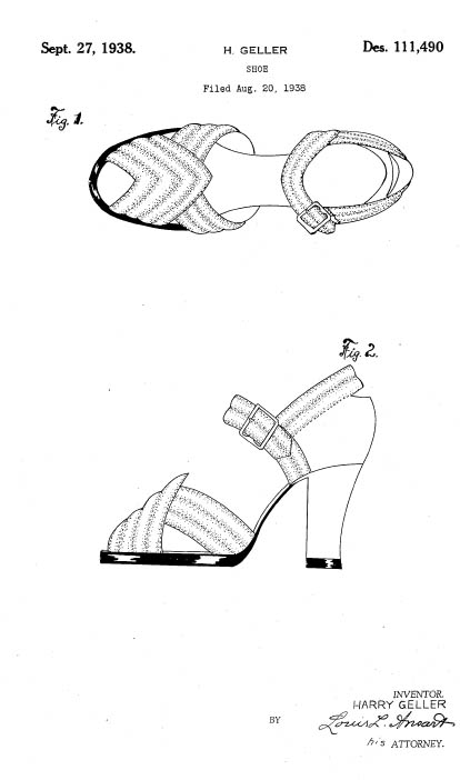 Clothing Design Patent Description Example Dress Design Patent D