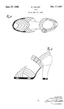 Shoe Design Patent D111490