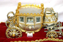 Silver Anniversary Edition of the Napoleonic Coach -- side view